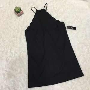 NWT ENDLESSLY ENDEARING WINE BLACK DRESS